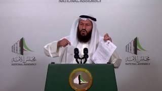تصريح النائب / محمد هايف  حول انتقاده إدارة رئيس مجلس الأمة مرزوق الغانم للجلسات 29-03-2017