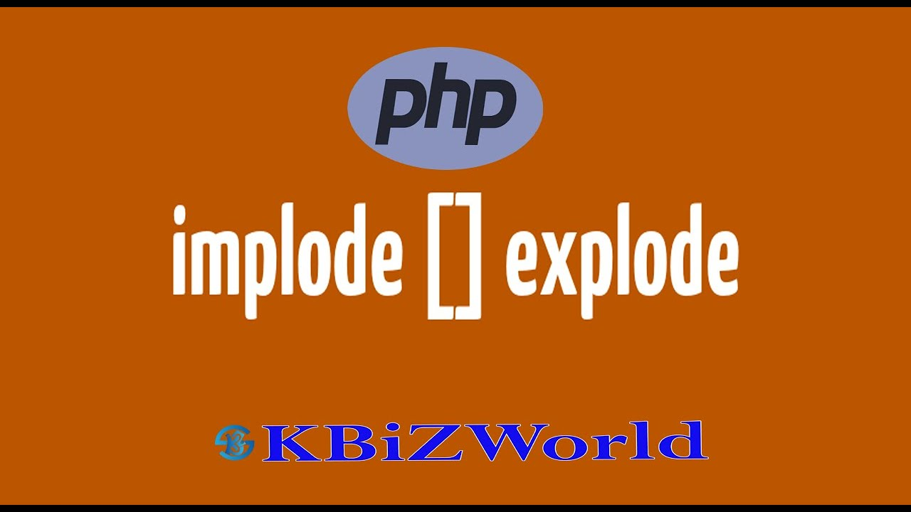 Extract, Explode And Implode Function In PHP