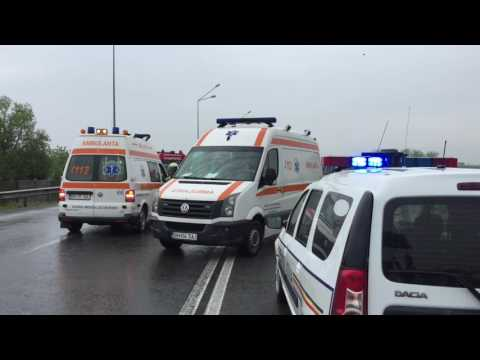 Accident mortal pe Centura Oradea