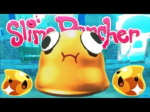 Exploding the GOLDEN GORDO Slime! - Let's Play Slime Rancher Gameplay