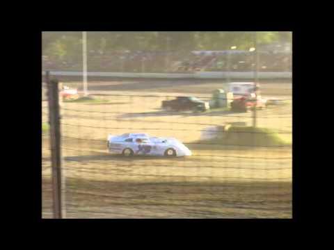 8-22-15 Oakshade Raceway Sportsman Heat Race