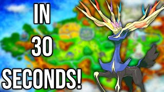Pokemon X and Y in 30 Seconds!