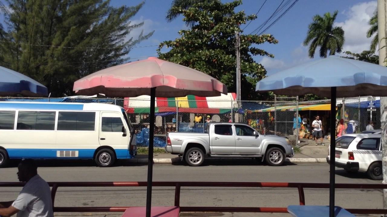 Bammy And Fish At Burger King Ocho Rios Jamaica January 17 2017