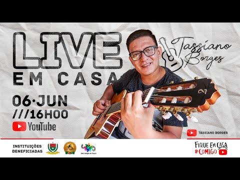 Live Beneficente Com Tassiano Borges
