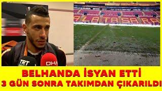 Galatasaray ile Belhanda yolları ayırdı...