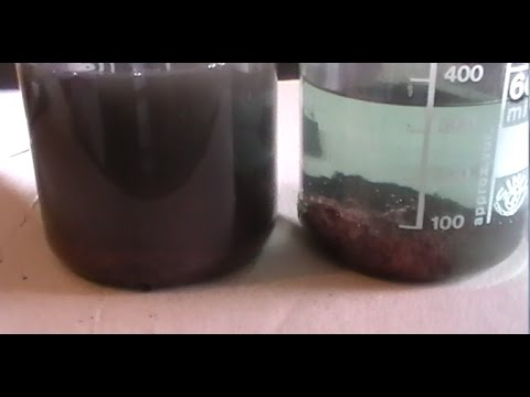 Как восстановить медь из раствора. Простой способ.