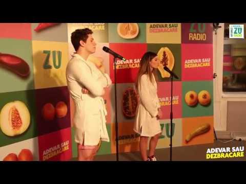 Adevăr sau Dezbrăcare, episodul 3: Alexandra Stan joaca în Fifty Shades of Grigoraș