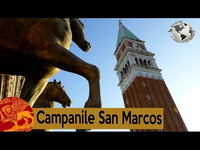 Campanile o campanario de San Marcos. Venecia 2015