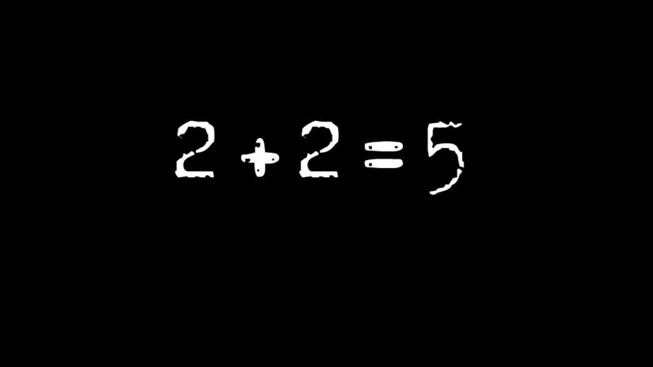 Картинки по запросу 2+2=5
