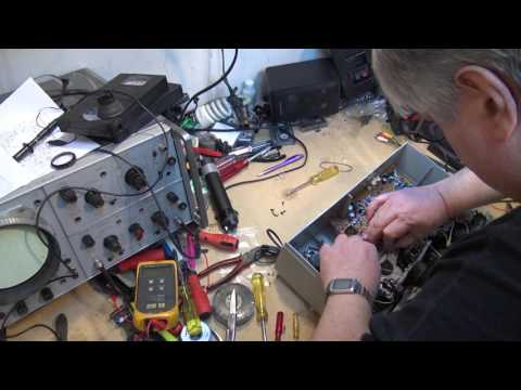 Fisher Dual Cassette Deck Tear Down And Repair