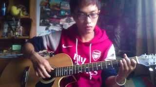 Guitar Những dòng thư vội trao (cover)