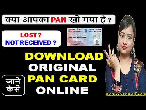 How To Download PAN Card (e-PAN) Online | पैन कार्ड डाउनलोड कैसे करते हैं [Hindi] #PANDOWNLOAD