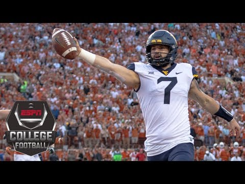 West Virginia stuns Texas on 2-point conversion | College Football Highlights