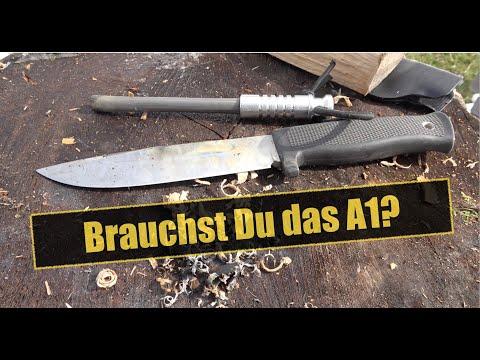 Brauchst Du das Fällkniven A1?   Survival Messer Review