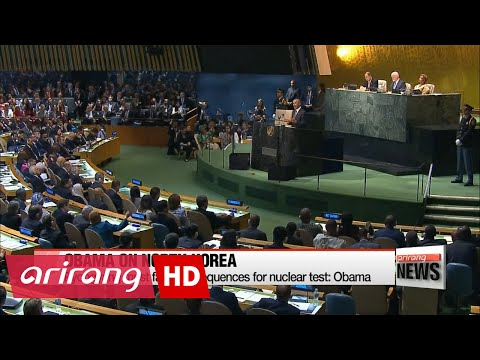 N. Korea must face consequences for nuclear test: Obama