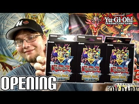 *NEW!*  Yu-Gi-Oh! The Dark Side of Dimensions Movie Pack Special Edition x3