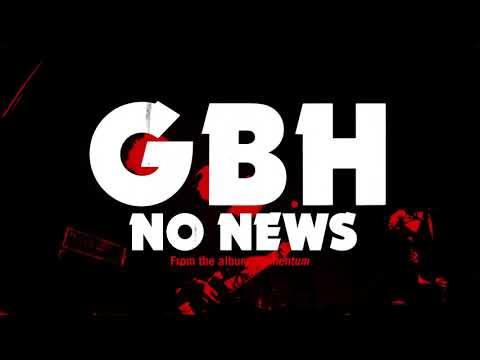 "GBH - ""No News"" (Full Album Stream)"