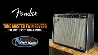 Tone Master Twin Reverb from Fender - All-New In-Depth Demo!
