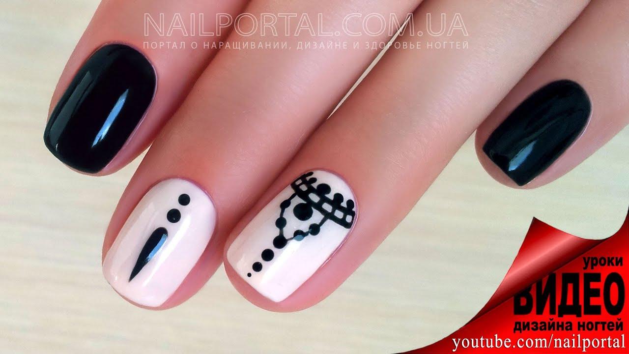 Видеоурок дизайн ногтей