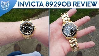 Invicta Pro Diver 8929OB | In-Depth Review | Rolex Homage Watch