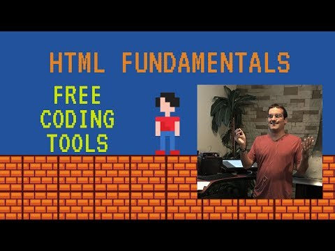 HTML Vid 2: Free Tools To Help You Code HTML