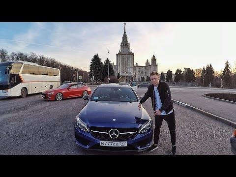 МАЖОРЫ из МГИМО. Гонки на BRABUS. LAMBO HURACAN в Москве. Выхлоп GTI. Mercedes C43 vs Infinity Q50S