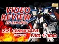 MSZ-010 Gundam ZZ MG 1/100 Unboxing y Review の動画、YouTube動画。