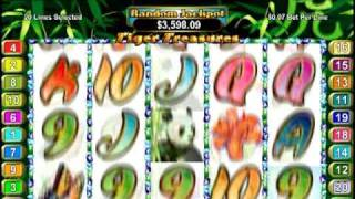 Tiger Treasures Slot Machine Video at Slots of Vegas(Tiger Treasures is an exciting, highly rewarding slot machine game, exclusively available at Slots of Vegas. Find out how to beat the house when playing online ..., 2011-02-04T17:30:52.000Z)