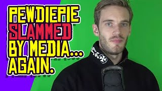 PewDiePie SLAMMED by Media for Rescinding $50,000 Donation!
