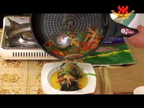 Cooking with Loving Hut Ulaanbaatar: Vegan Fish with Veggies (In Mongolian)