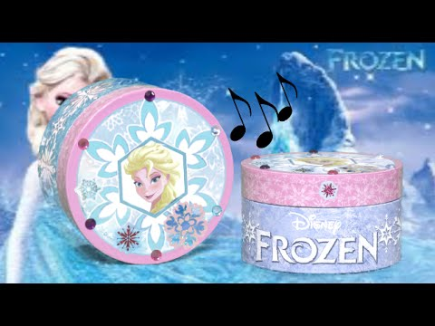 Disney Frozen Crystal Creations Music Jewelry Box from Tara Toy
