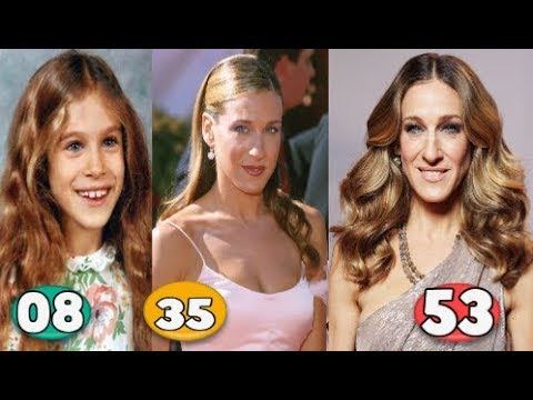 Sarah Jessica Parker ♕ Transformation From 08 To 53 Years OLD