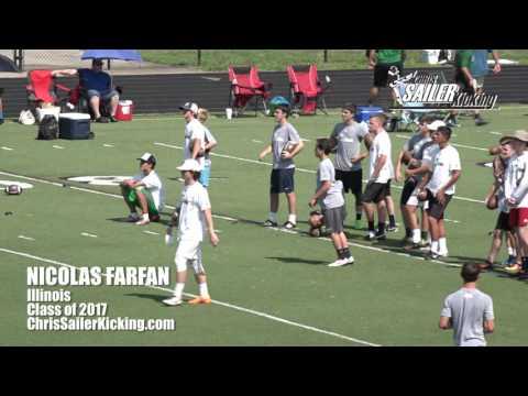 Nicolas Farfan - Kicker