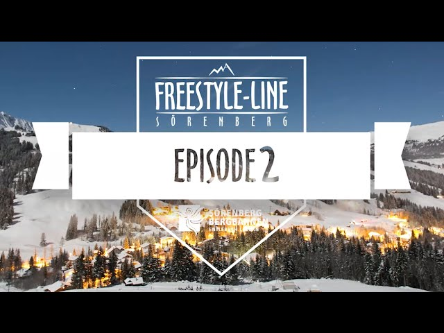 Freestyle Line Sörenberg, Episode 2, Season 15/16