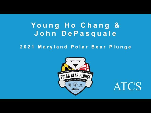 ATCS Polar Plunge 2021 - Young Ho Chang and John DePasquale