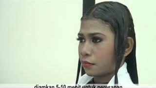 Video Proses Pelurusan Rambut dengan produk Ofel Hair Straightener