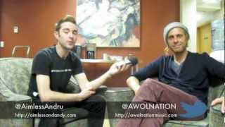 AWOLNATION - Interview with Aaron Bruno
