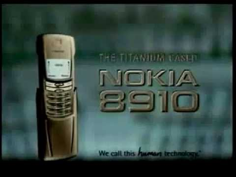 Nokia 8910 Commercial