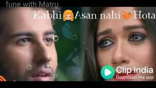 Kisi ka saath pana bhi    What's app status by fune with matru