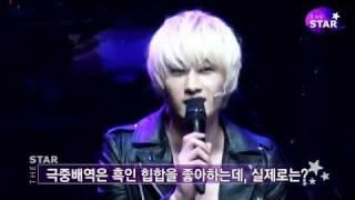 (The Star) 111107 'FAME' Musical Showcase - Eunhyuk