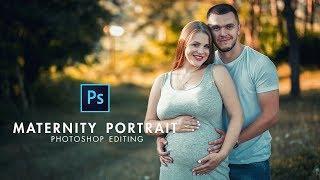 Photoshop cc Tutorial: Maternity Photo Shoot Retouching & Editing In Photoshop