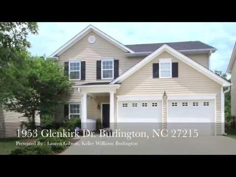 1953 Glenkirk DrBurlington, NC 27215