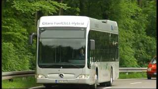 New Mercedes Citaro FuelCELL Hybrid Bus 2010