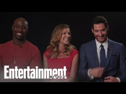 Lucifer: Tom Ellis, Tricia Helfer & D.B. Woodside On Season 2 And More | Entertainment Weekly