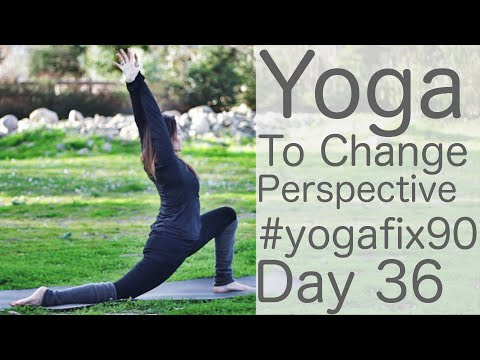 Yoga to Change your Perspective Day 36 Yoga Fix 90 with Figh