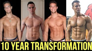 My 10 YEARS NATURAL BODY TRANSFORMATION | Jon Venus