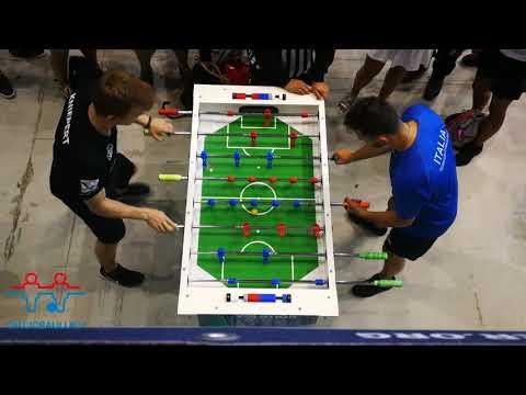 Foosball: Caruso (ITA) VS Kniepert (GER) [World Championship 2019]