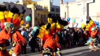 danza de hidalgo coahuila presentandose en la catedral de san juan de los lagos