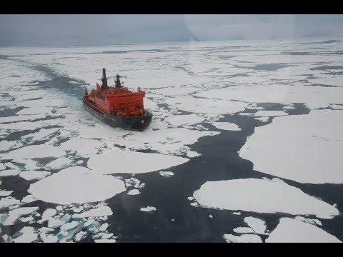 Путешествие по ледяной Арктике на ледоколе «50 лет Победы»