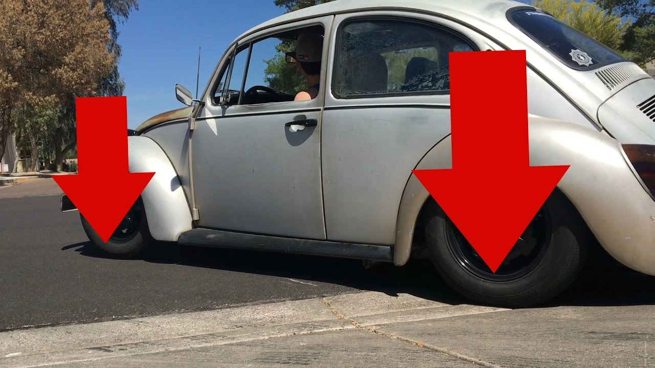 I think we went too low lowering the 74 vw bug youtube lowering the 74 vw bug publicscrutiny Image collections